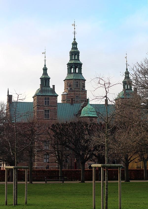 Afbeeding van slot Rosenborg in Kopenhagen