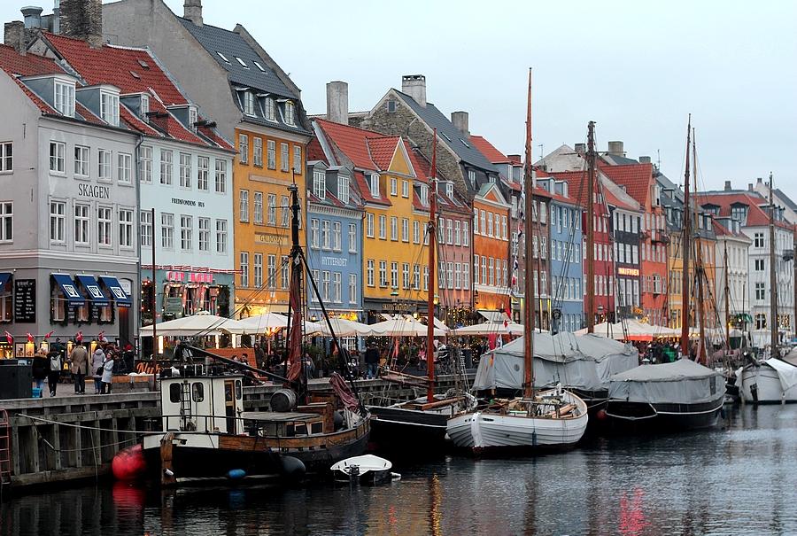 Afbeelding van de Nyhavn in Kopenhagen